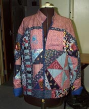 Quilted Jacket; Actual size=180 pixels wide